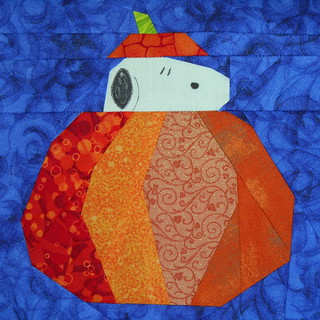 Pumpkin Snoopy