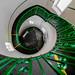 Green Helix by Rupert Brun