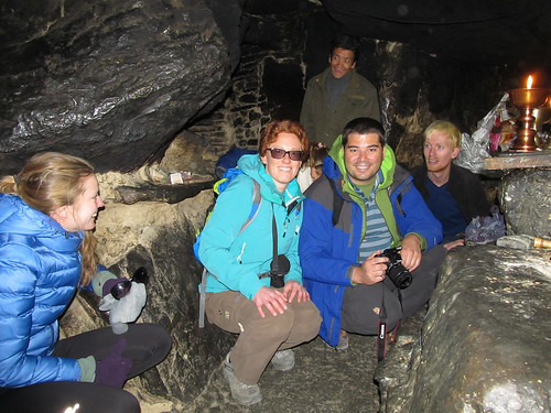 Grotte du monastère Rongpu