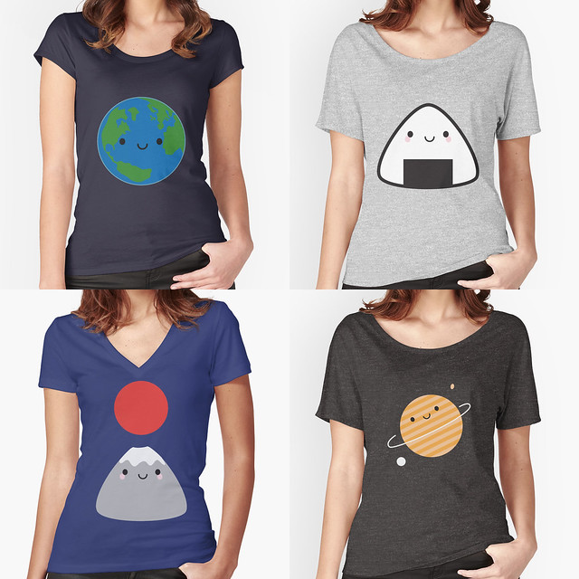 New Womens Tee Styles at Redbubble