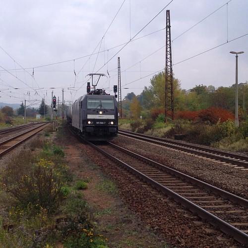 Kesselwagenzug in Naumburg (Saale) am letzten Sonntag