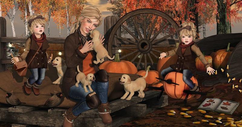 Amelie et les petites: Puppies