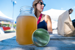 Kombucha at Castle Hills Farmer's Market