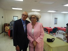 Aunt Beatrice  & Uncle John @ mom's Funeral