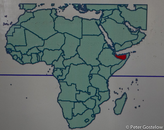 Somaliland on the map