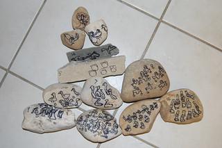 Advent Stones