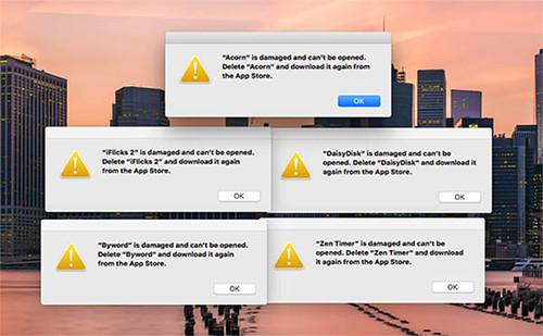 Apple tanúsítvány lejárt fail