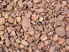 Lakeshore beach gravel (upper Holocene; derived from the Split Rock intrusive felsite, Proterozoic; Iona's Beach, northeastern Minnesota, USA) 11