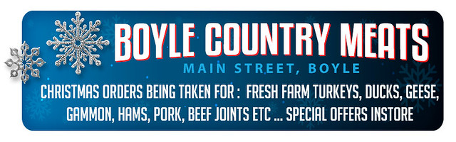 Boyle Country Meats - Christmas orders
