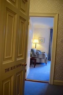 The Blue Room at Ballymaloe House