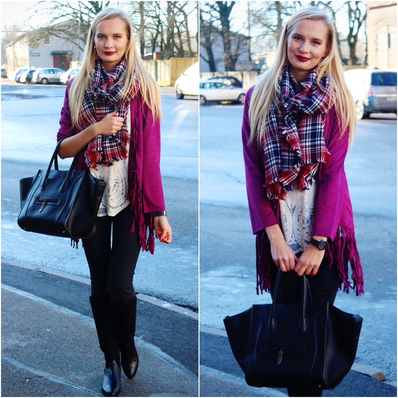 Bohemian style outfit