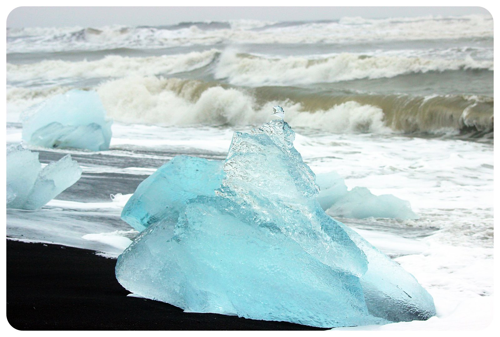 jokulsarlon glacier lagoon ice beach iceland