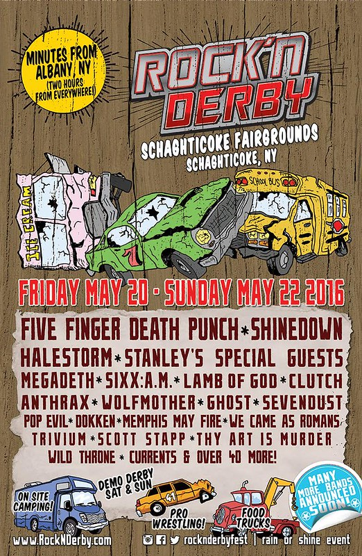 ab93fbce7fd Clutch will play the Rock N' Derby near Albany, NY on Friday May 20.