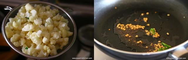 cauliflower poriyal 2
