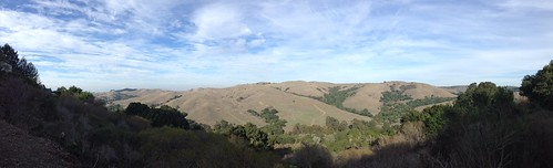 Wildcat Canyon, East Bay, San Francisco area, panorama