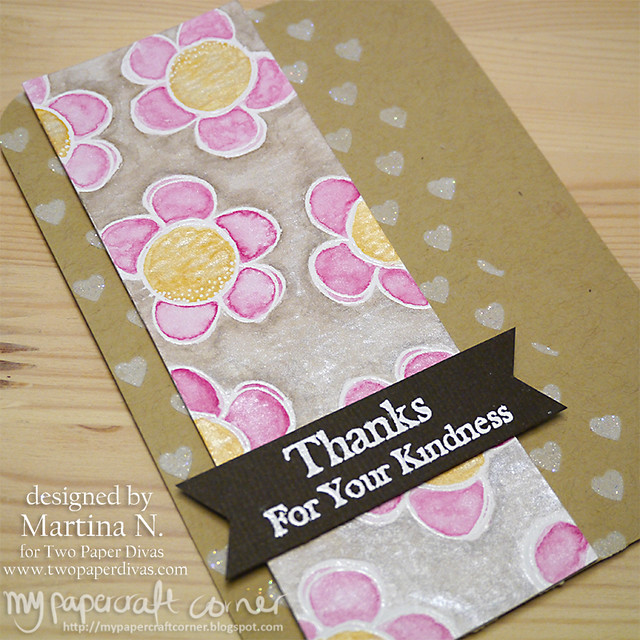 Thank you card #396