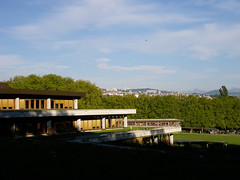 View from top of UNIL campus