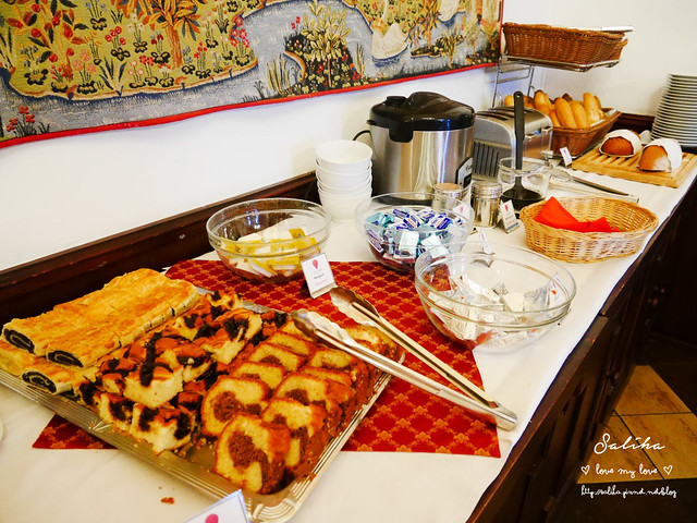 Hotel Ruze薔薇飯店Charming Hotel in cesky Krumlov中世紀扮裝晚餐-自助式早餐 (21)