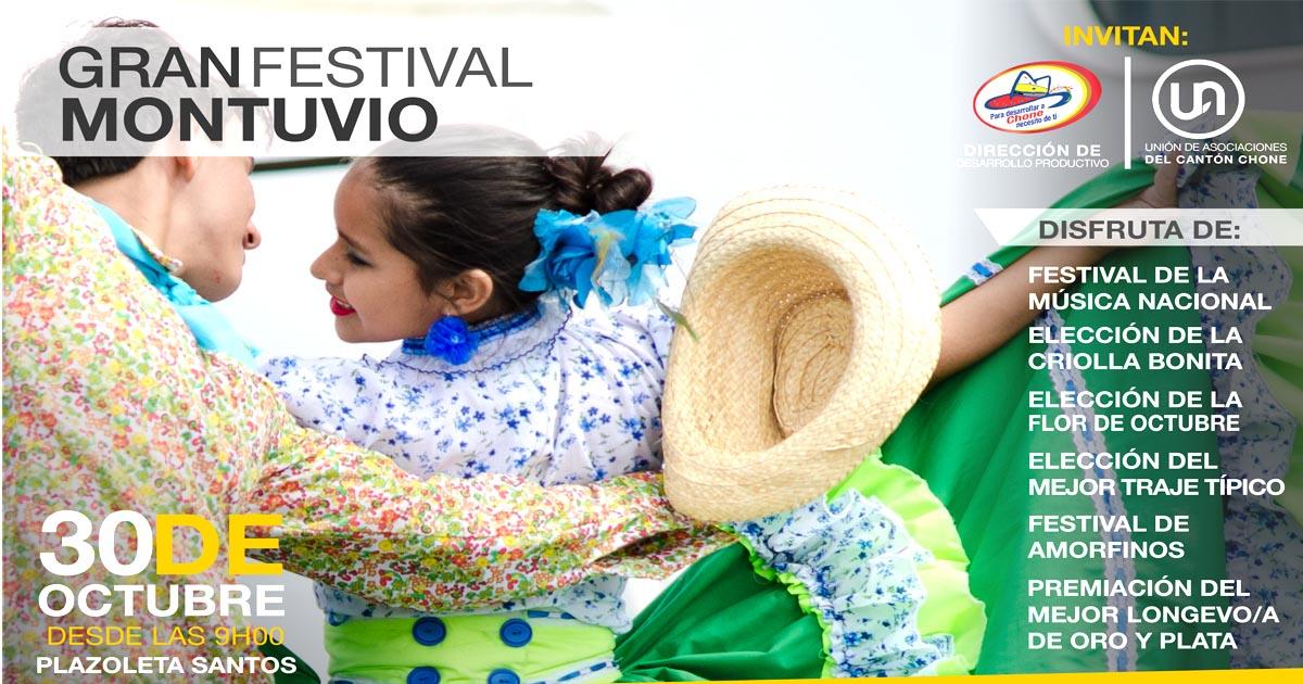 Este domingo se realizará la 8va feria productiva y el festival montuvio
