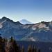 Mount Adams Beyond the Peaks of the Tatoosh Range (Mount Rainier National Park) by thor_mark 