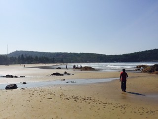 Image of Kudle Beach near Gokarna.
