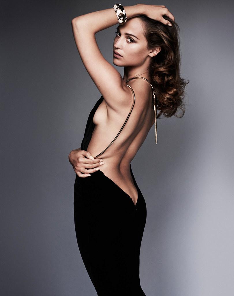 Алисия Викандер — Фотосессия для «Vanity Fair» 2016 – 10