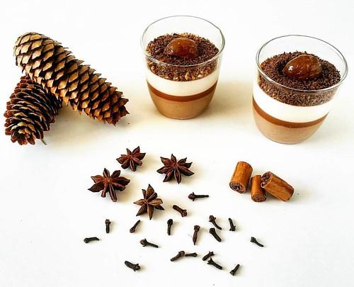 Budino speziato alle castagne. Spice pudding with chestnuts. ☆ ☆