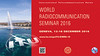 ITU World Radiocommunication Seminar 2016 (WRS-16), 12 to 16 December 2016, Geneva, Switzerland