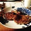 Breakfast for dinner tonight: oatmeal pancakes