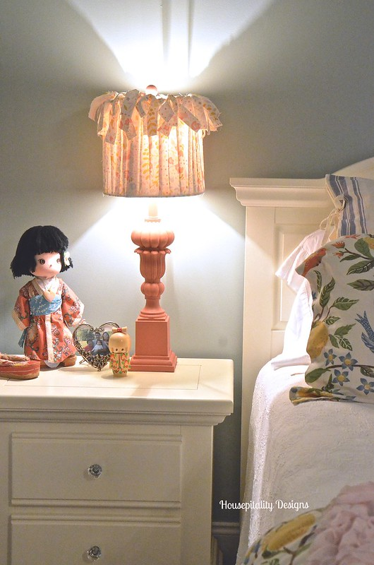 DIY No Sew Lampshade - Housepitality Designs