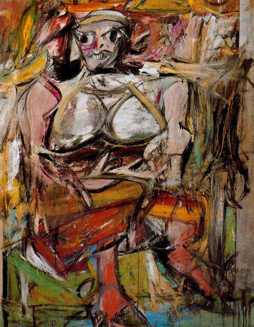 Willem de Kooning, Woman, 1950-52