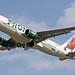 N228FR FRONTIER A320-214 leaving KCLE by GeorgeM757