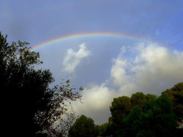 rainbow in malibu