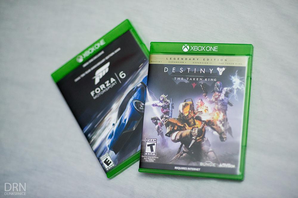 Forza 6 & Destiny.