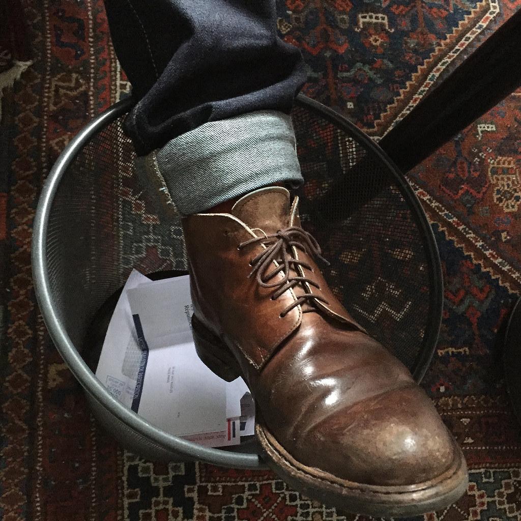 Le pied d'un philosophe