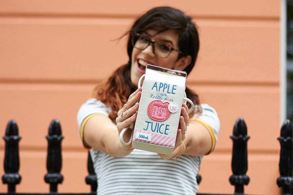 primrose hill london apple juice novelty bag accessorize