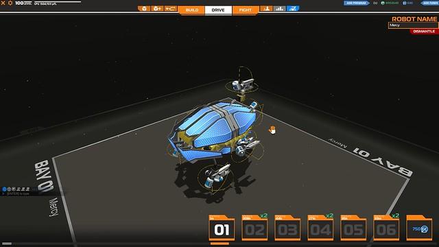 Robocraft Mercy 1