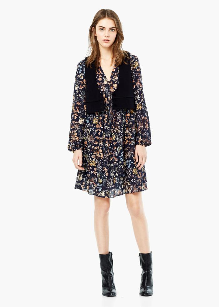 FLORAL PRINT DRESS 39,99e 2