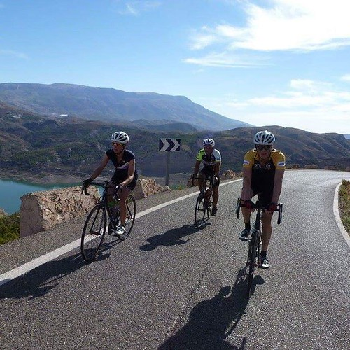 Nice on the reservoir climb today #cyling #spain #roadcycling #trainingcamp #vamoscycling