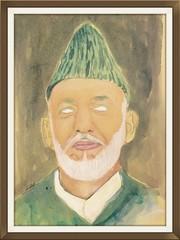 Karzai - white eyes