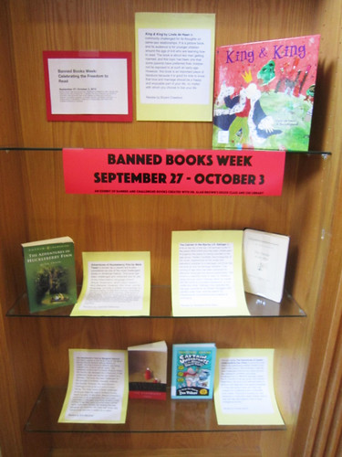 Banned Books Week Exhibit