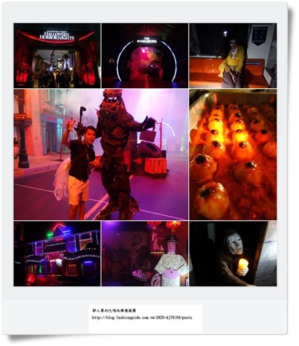 (旅遊 新加坡) 萬聖夜驚魂夜 ~ 就在新加坡環球影城!搶先直擊全紀錄!文末送小小兵造型吸鐵