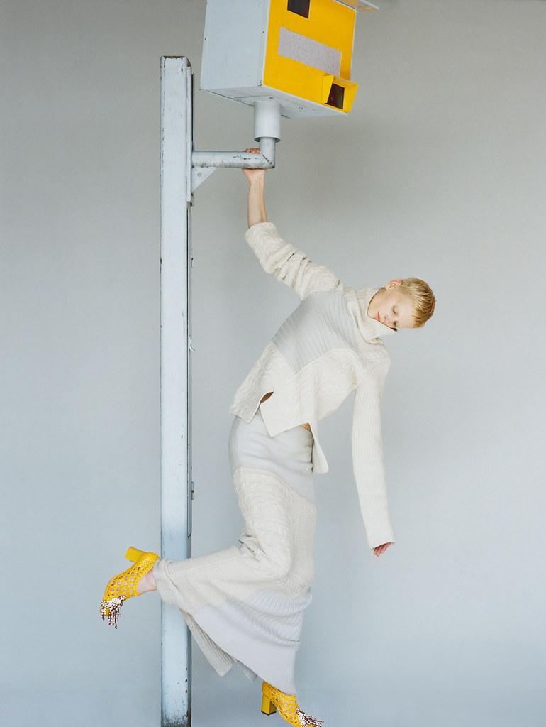 Саския де Брау — Фотосессия для «Vogue» UK 2015 – 7