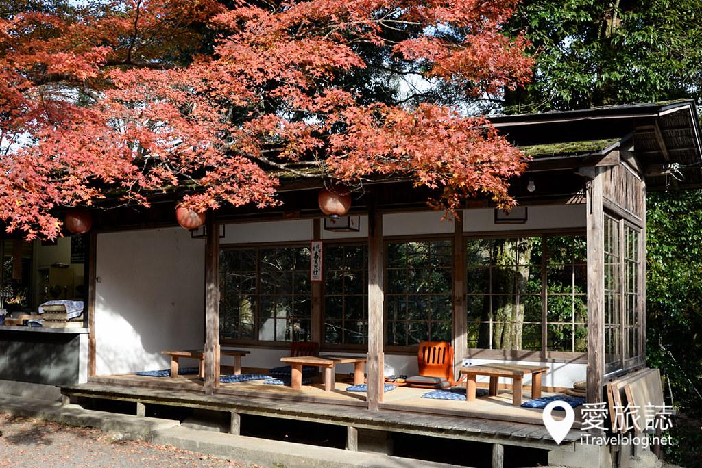京都赏枫景点 神护寺 高雄茶屋 10