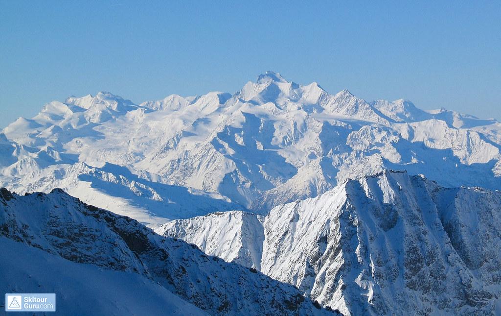 Grosser Aletschhorn Berner Alpen / Alpes bernoises Schweiz foto 09