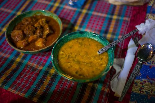 Camel stew, Yazd, Iran.