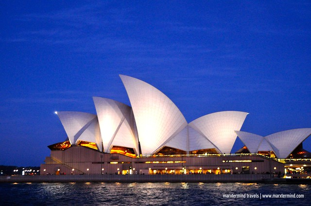 Sunset Cruise Sydney Opera House