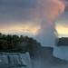 The Falls at sun set by ramidaud.com