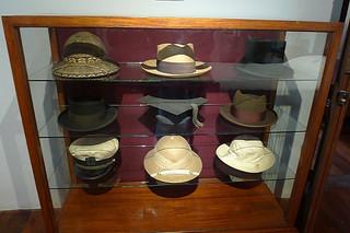 Ilocos Sur - Burgos National Museum Elpidio Quirino hats