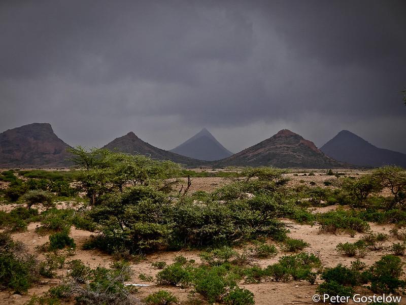 Desert scenery in Somaliland